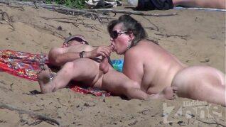 Boquete da esposa na praia